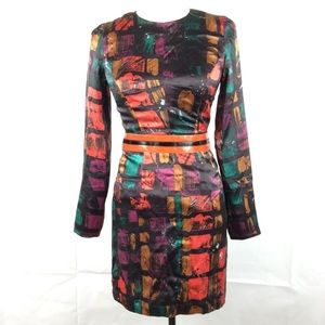 An original milly of New York dress 2 Silk artsy